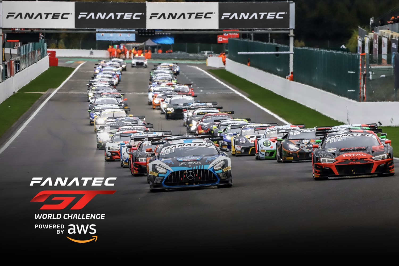 Erweitertes Feld von sechs Herstellern startet 2021 in der globalen Fanatec GT World Challenge Powered by AWS