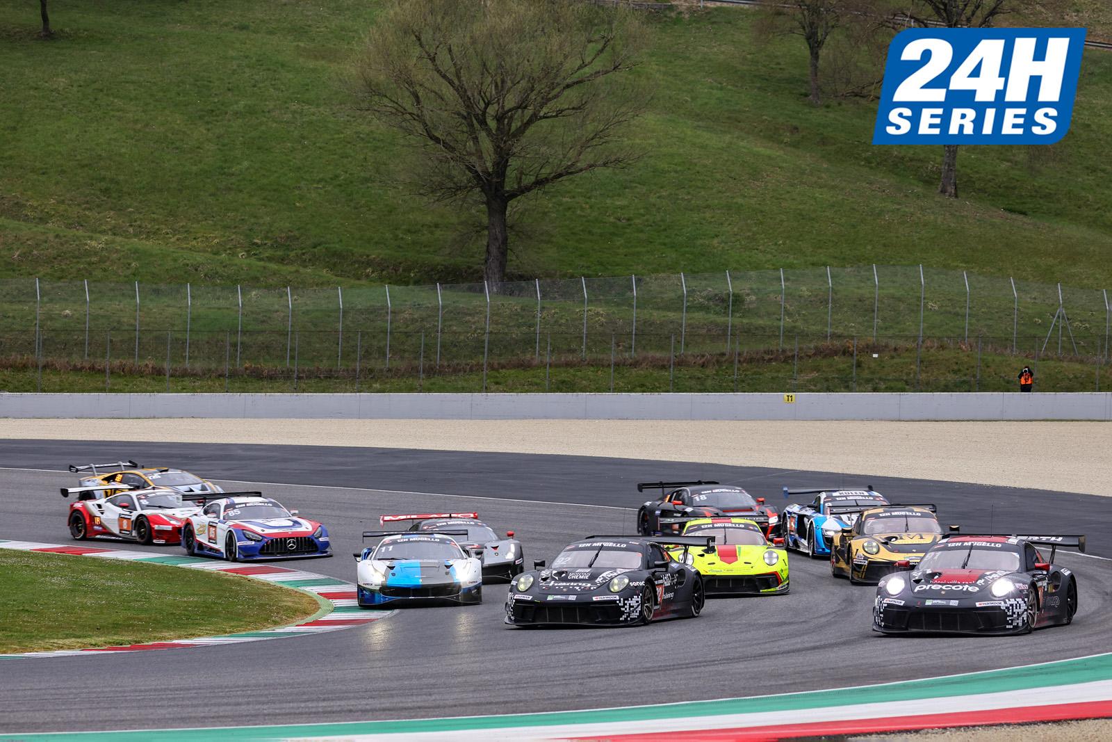 Herberth Motorsport siegt in dramatischen Hankook 12H MUGELLO
