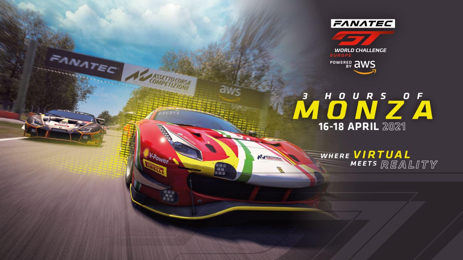 Fanatec GT World Challenge Europe Powered by AWS kehrt zum Saisonstart 2021 nach Monza zurück