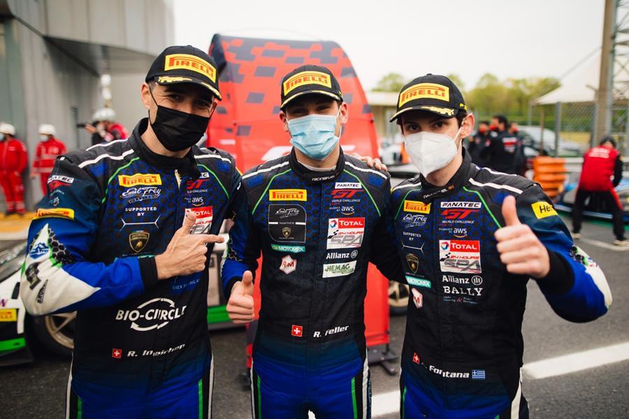 Lamborghini #14 belegt in Monza den dritten Platz in der Gesamtwertung und holt den Sieg in der Silberklasse