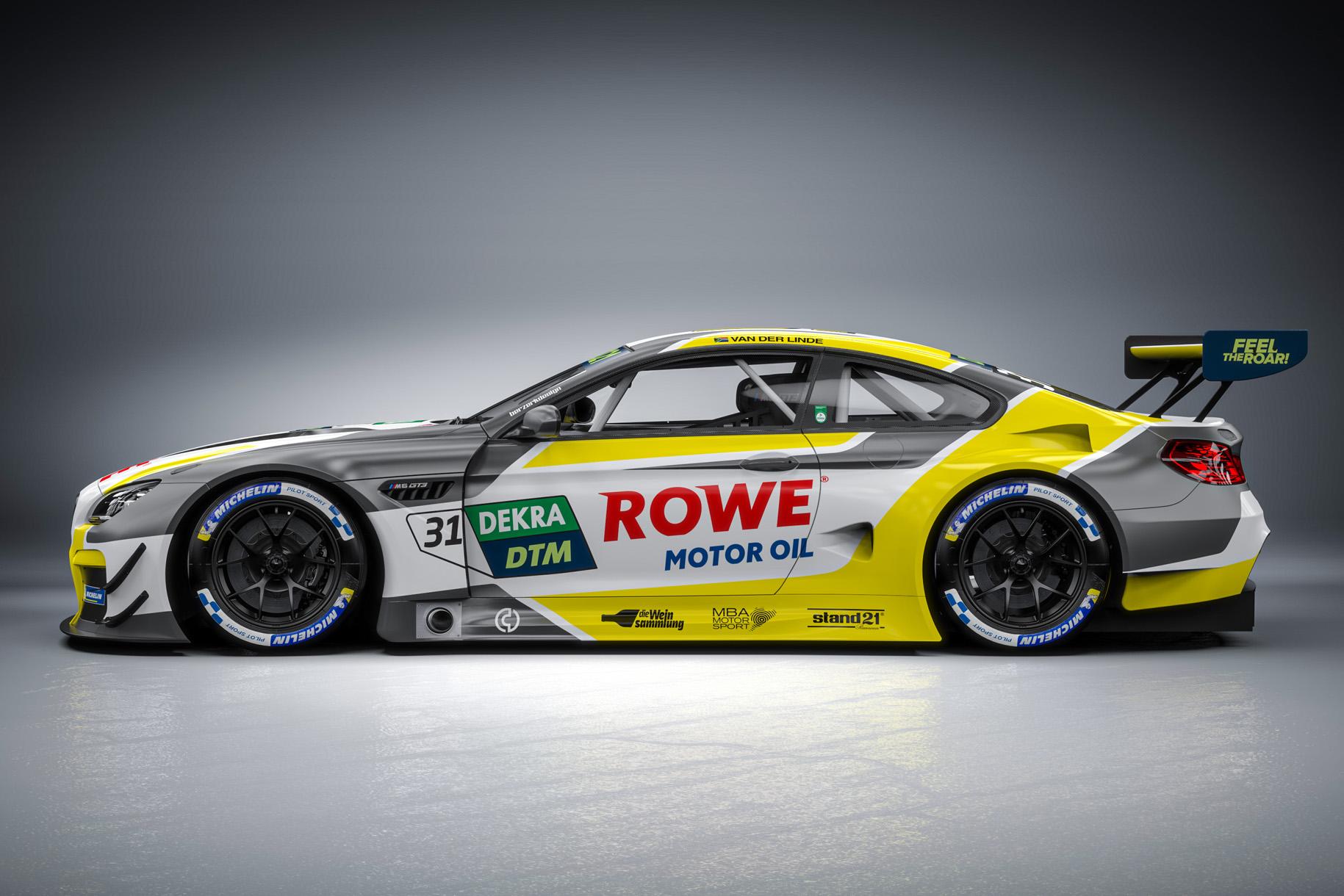ROWE RACING schickt Sheldon van der Linde ins erste Bruderduell seit Wiedereinführung der DTM im Jahr 2000
