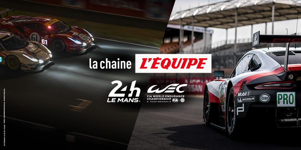 L'Equipe: ein neuer Broadcaster für die 24 Stunden von Le Mans und die FIA WEC
