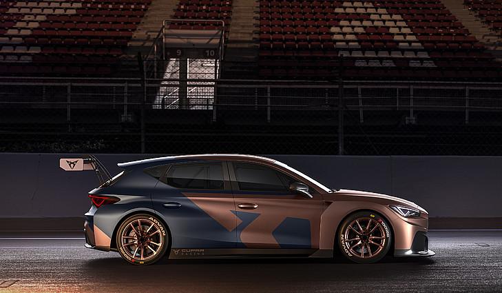 Der neue Cupra León Competicion basiert auf dem Vorgängermodell Cupra TCR