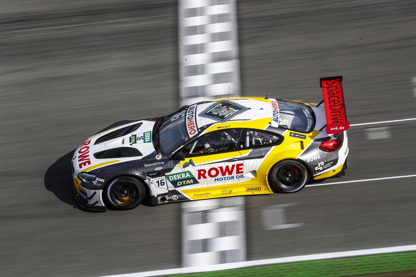 ROWE RACING feiert auf dem Norisring Abschied vom BMW M6 GT3 Hockenheim