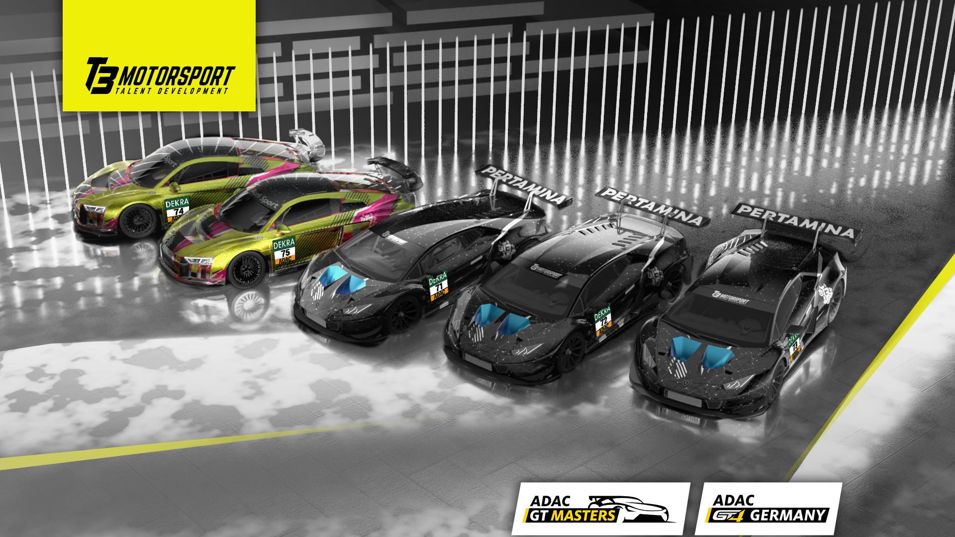 T3 Motorsport setzt 2021 auf Lamborghini
