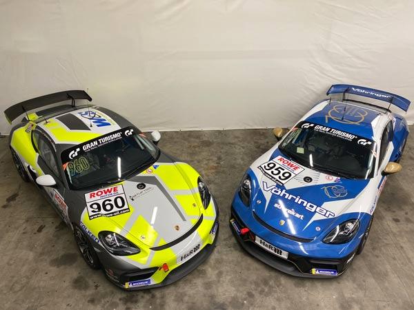 W&S Motorsport möchte mit Spitzentrio um die Cayman GT4 Trophy by Manthey-Racing ein Wörtchen mitreden