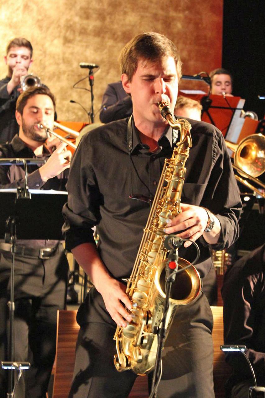 Die Lumberjack Big Band begeistert mit ihrem umfangreichen Swing-, Jazz- und Soulrepertoire.