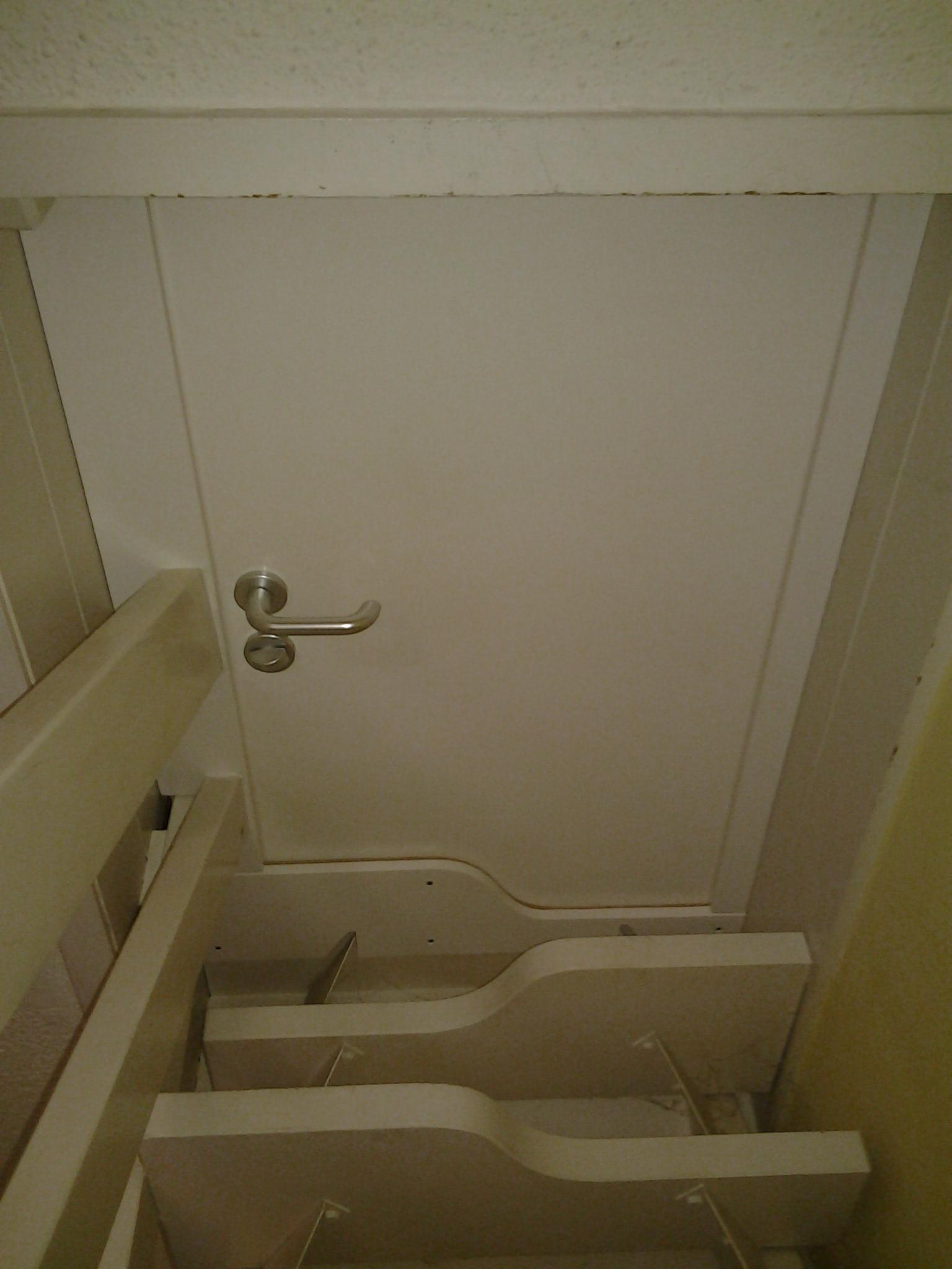 Lukendeckel von unten abschließbar