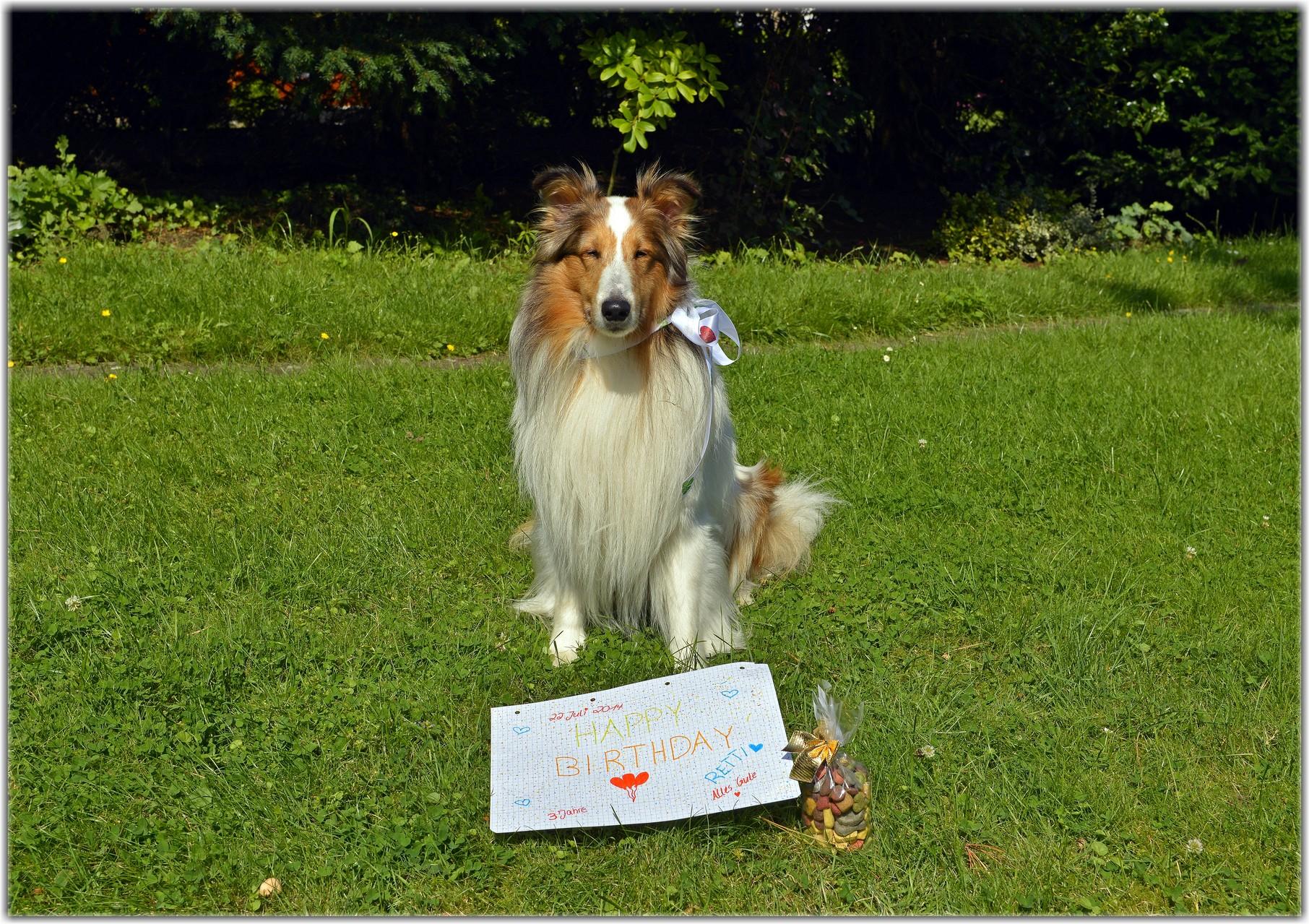 hihi, ein Briefchen und lecker Leckerchen von Nessie....