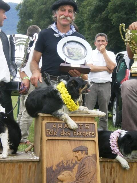 Acker:championne Aramits  2011 et 2012, 3ème en 2013