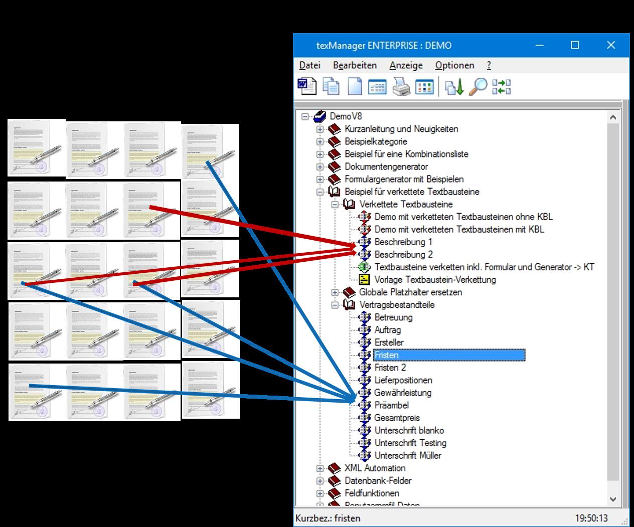 Dynamische Dokumente Und Vorlagen Textbausteinmanagement