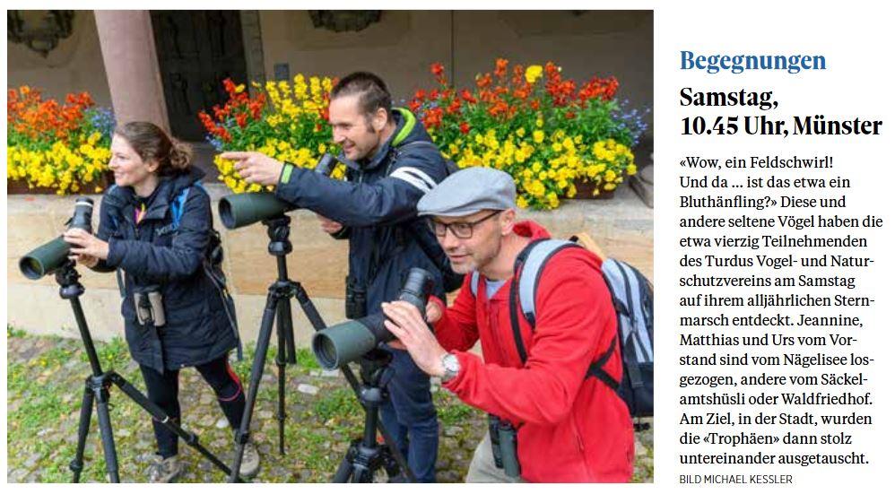Schaffhauser Nachrichten, 3. Mai 2021