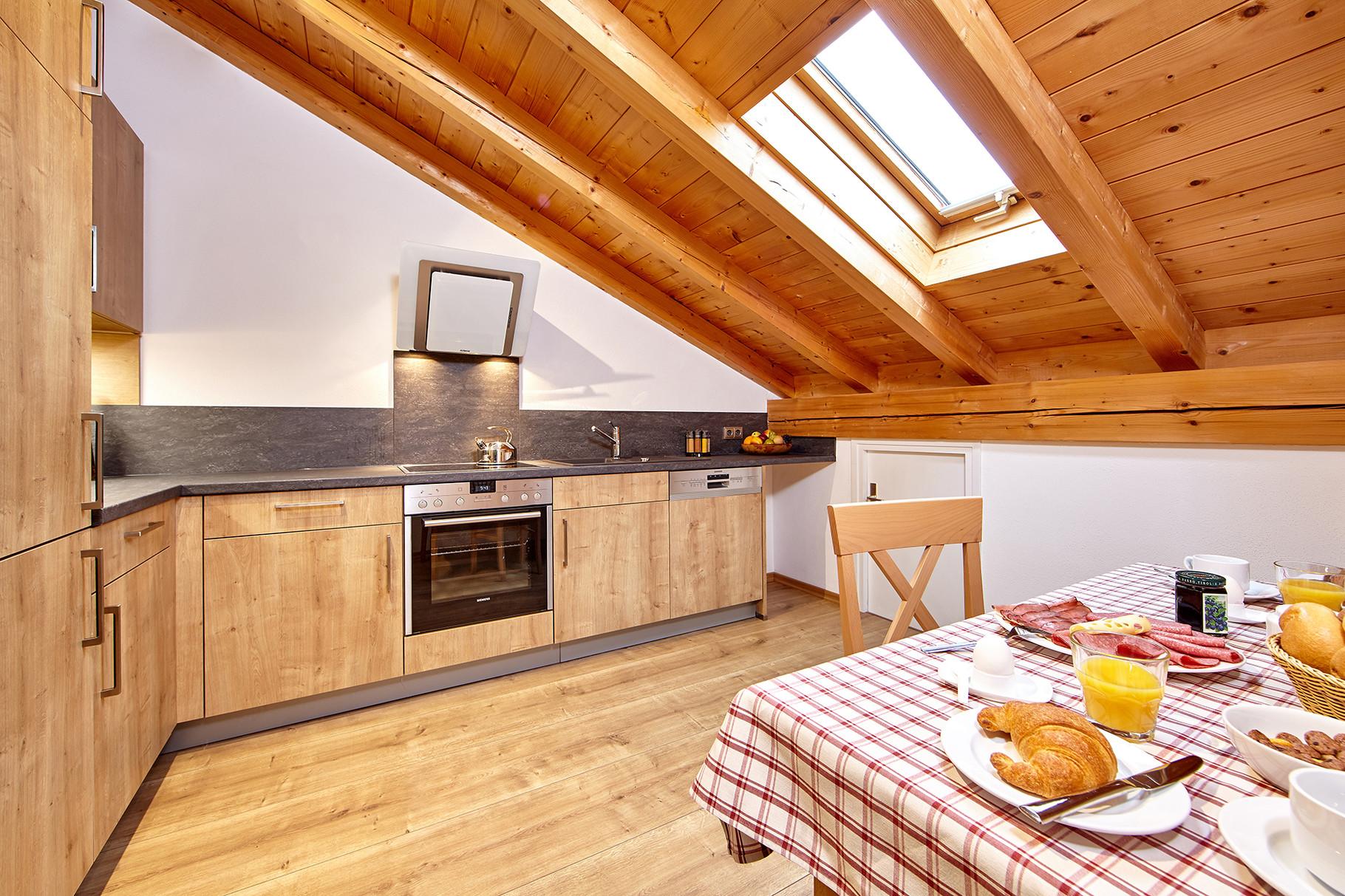 Küche - Ferienwohnungen Wilhelm in Garmisch-Partenkirchen