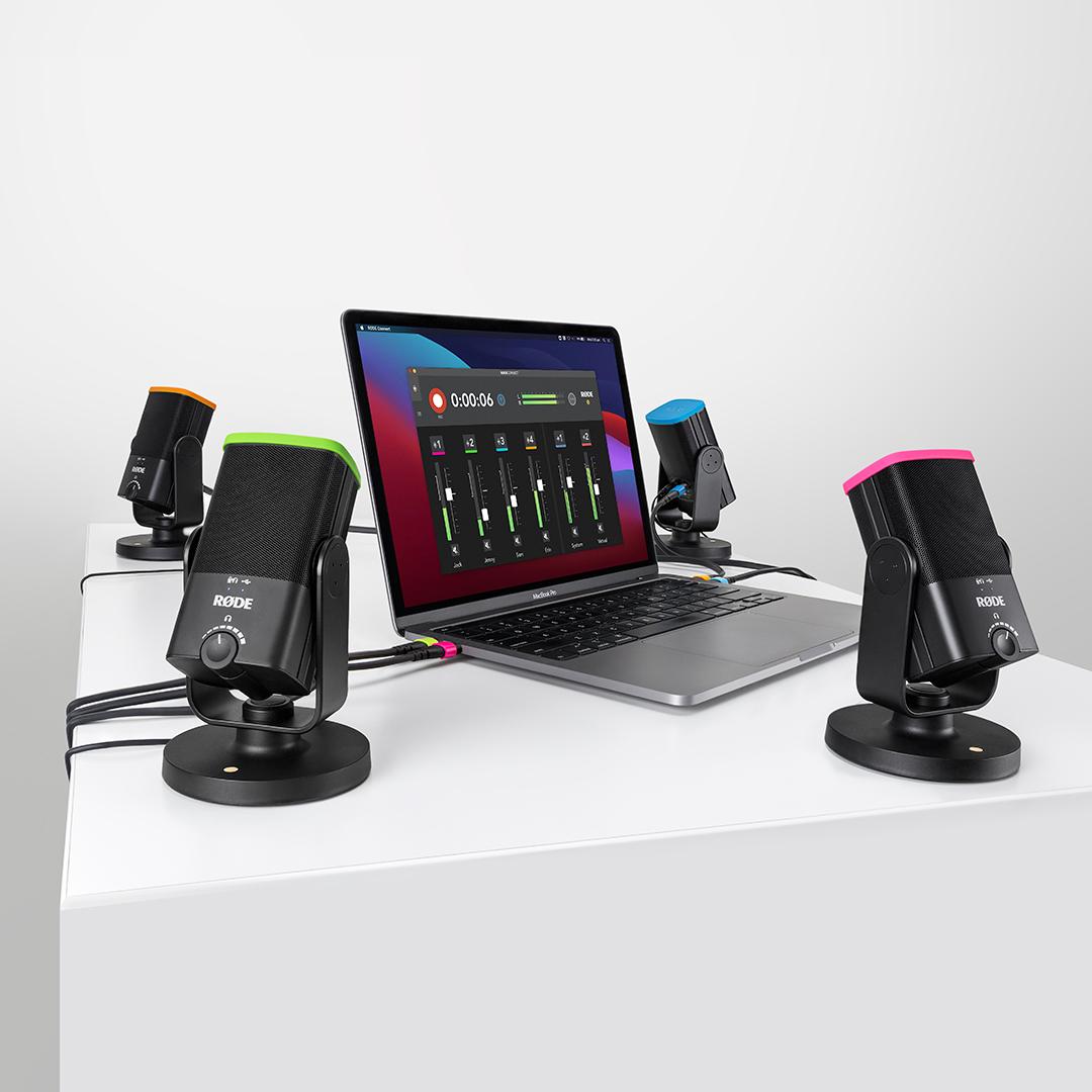 Rode Connect App für Remote-Recording mit nützlichem Update