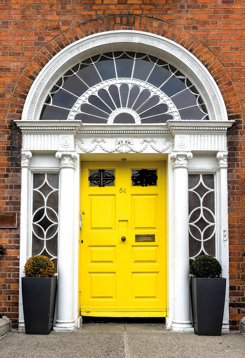 The doors of Dublin