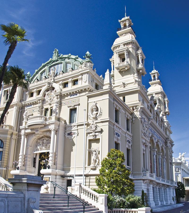 Das Opernhaus von Monte Carlo
