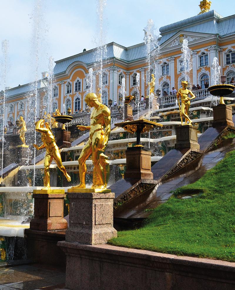 Das russische Versailles: die Palastanlage Peterhof