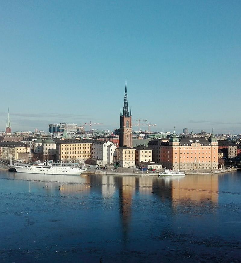 Die schwedische Hauptstadt Stockholm