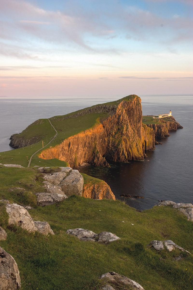 Der westlichste Punkt der Insel Skye: Neist Point