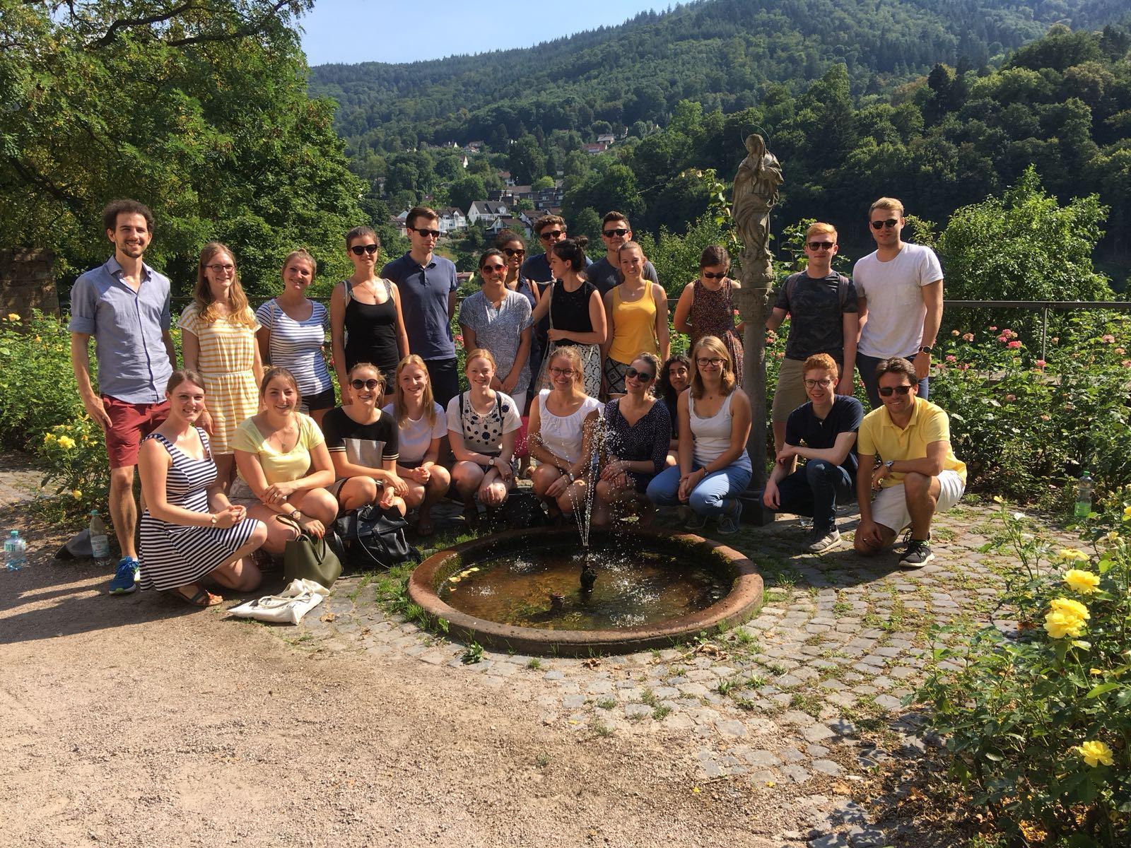 Bild der Gruppe (Foto: KAS-Stipendiaten)