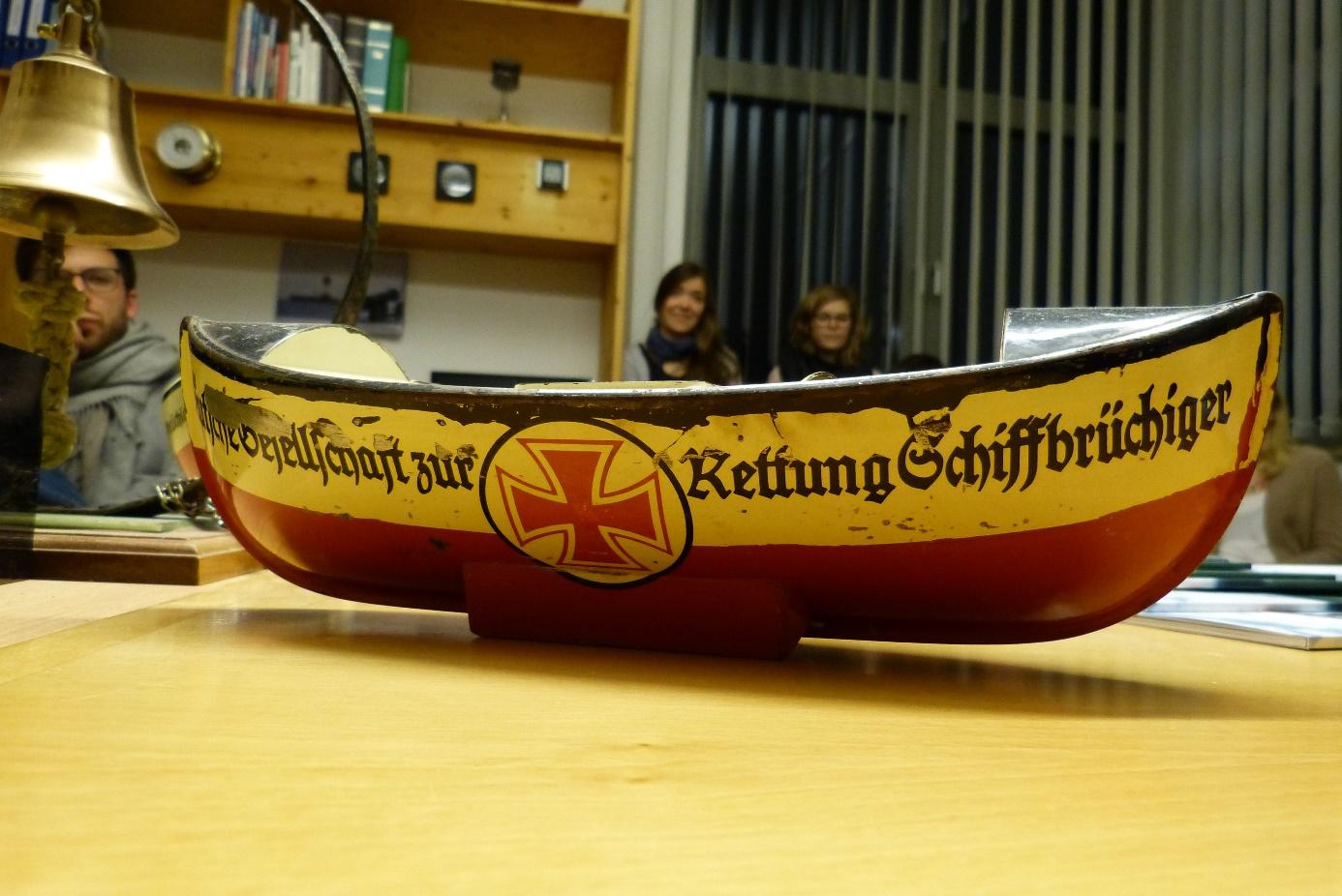 Das deutschlandweite bekannte Spendenschiff  der DGzRS.
