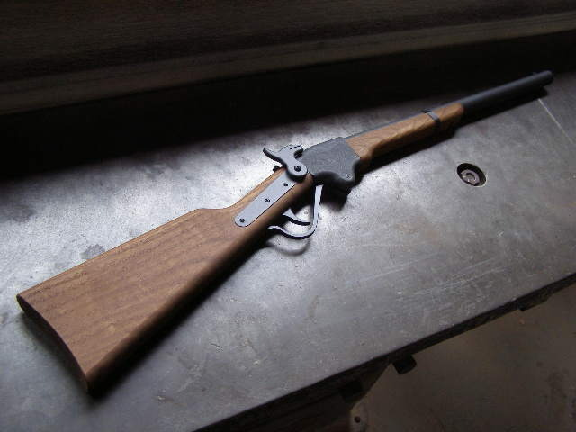 時代を感じさせる「スペンサー銃」