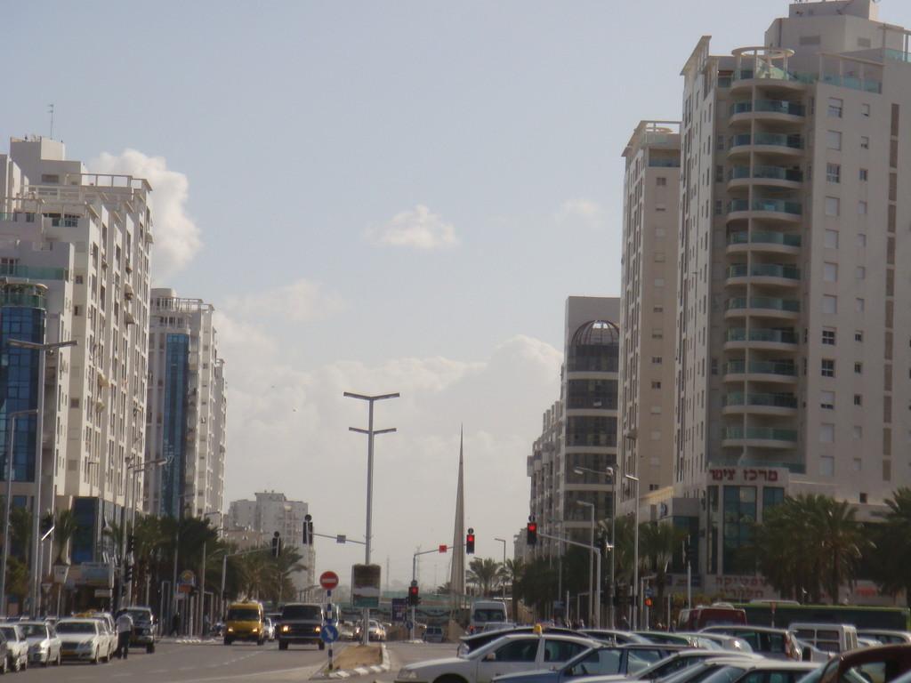 Vers le centre de la City