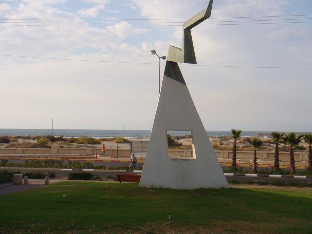 Entrée du quartier youd Alef