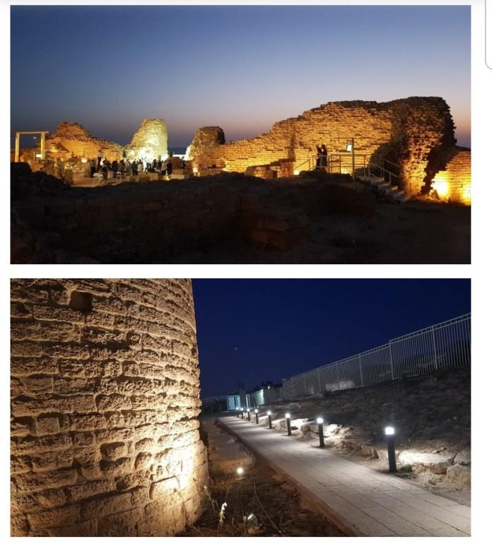 La citadelle d'Ashdod
