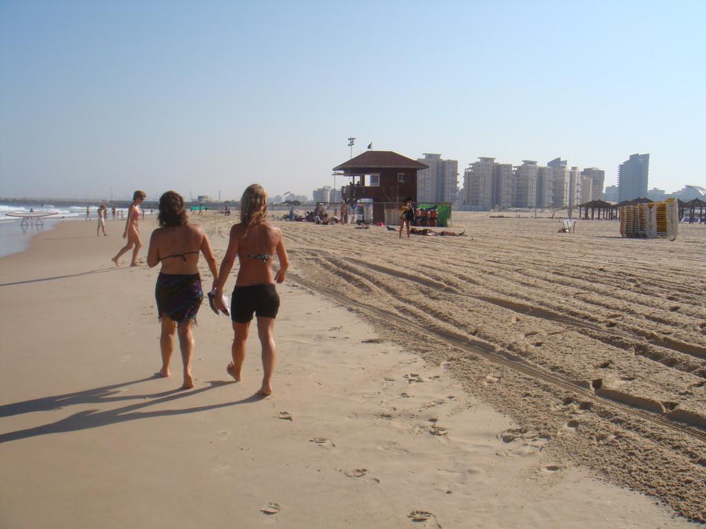 Jogging sur le bord de mer