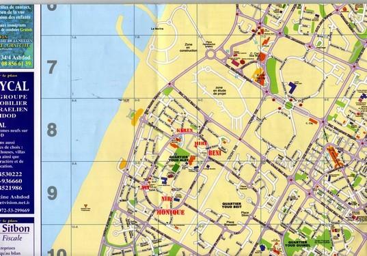 Localisation de quelques locations