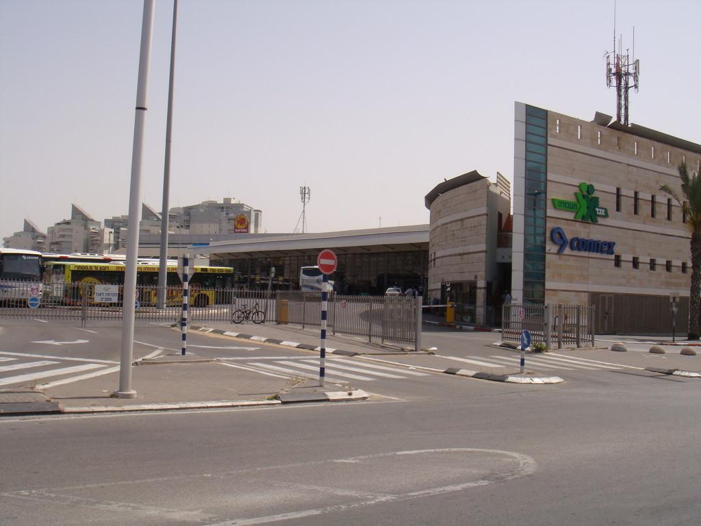 La station centrale de bus
