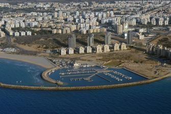 Vue sur la Marina d'Ashdod