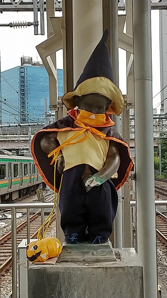 【浜松町駅】マネケン・ピース(平和の人形)~2021年10月~ジュリアン君