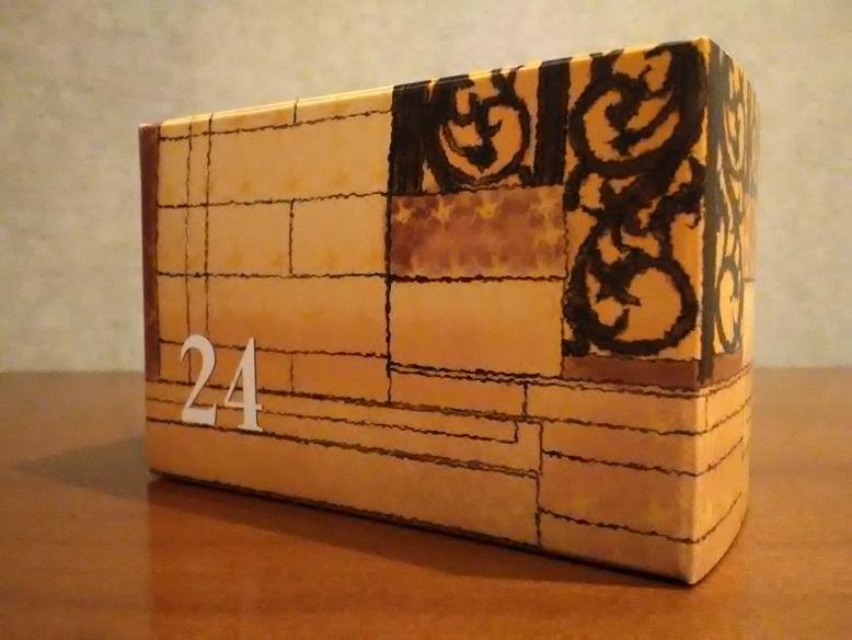 株式会社和光さんの「和光アドベント カレンダー」の24「ディアマンとディアマンショコラ」