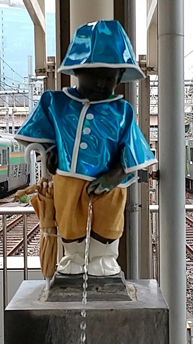 【浜松町駅】マネケン・ピース(平和の人形)~2021年6月~ジュリアン君