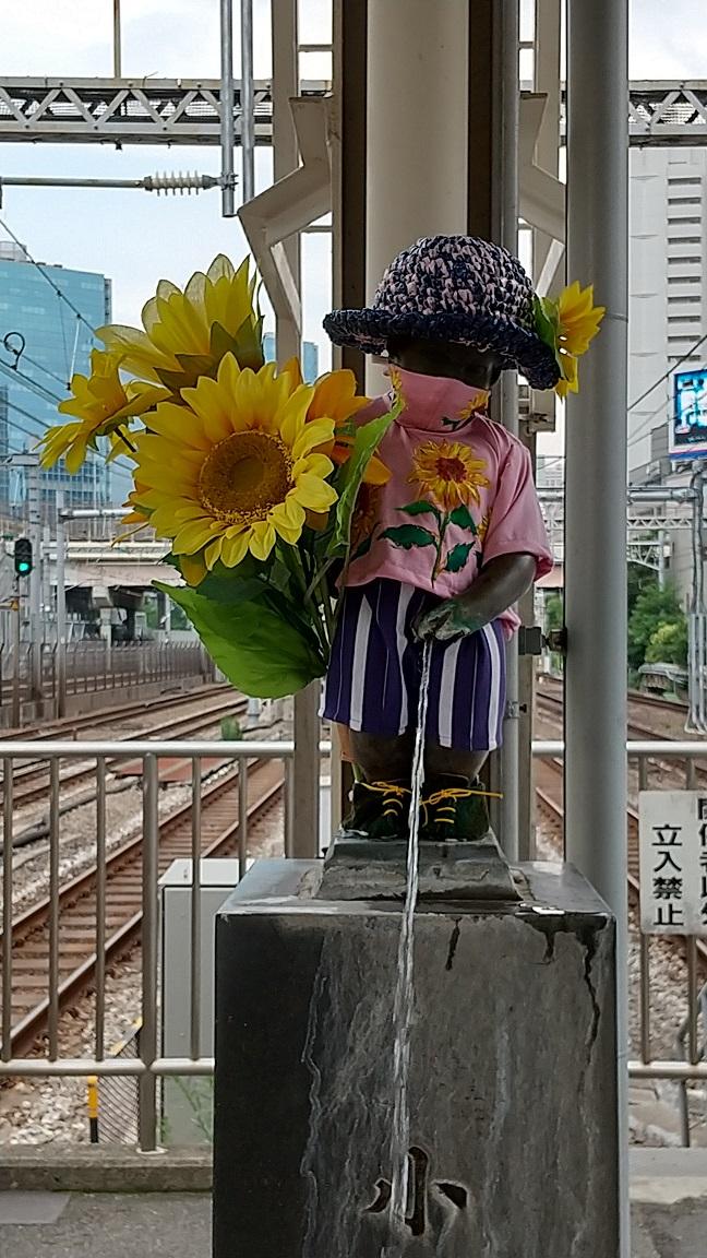 【浜松町駅】マネケン・ピース(平和の人形)~2021年7月~ジュリアン君
