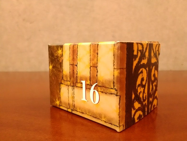 株式会社和光さん「和光アドベントカレンダー」の16「ラ メゾン(ココナッツ  クッキー)」