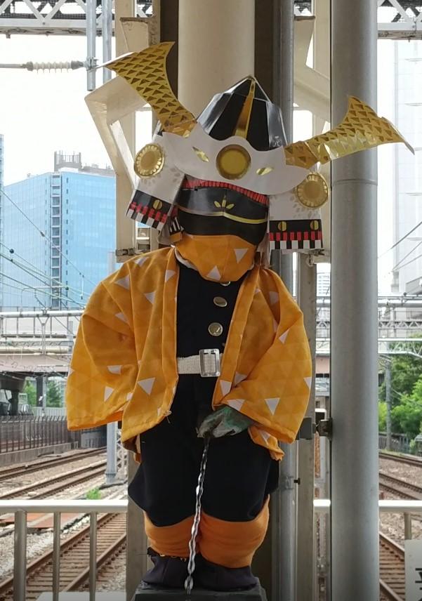 【浜松町駅】マネケン・ピース(平和の人形)~2021年5月~ジュリアン君