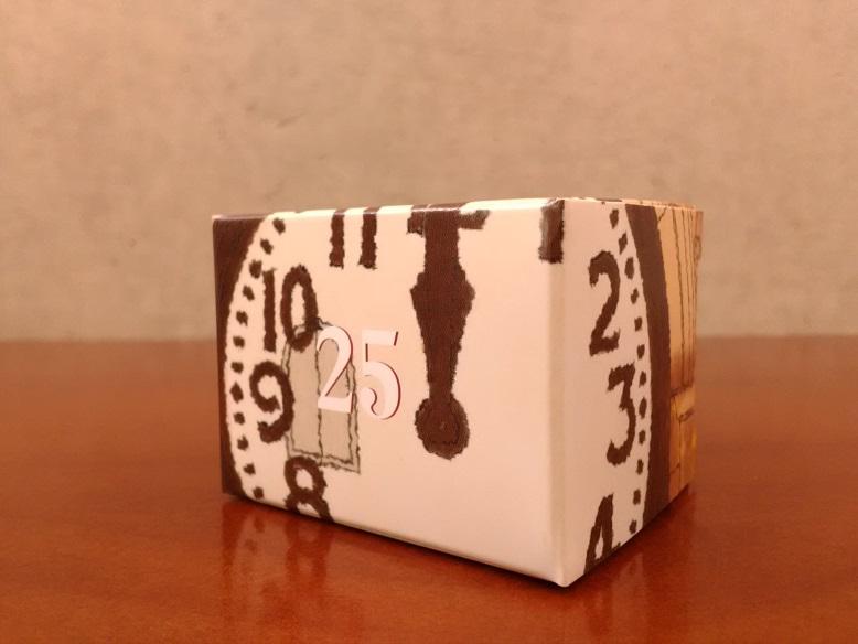 株式会社和光さんの「和光アドベント カレンダー」の25「キャレ  ド  ショコラ  アソート」