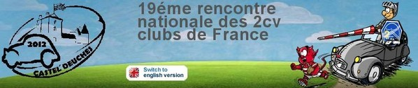 19eme rencontre nationale 2cv clubs france