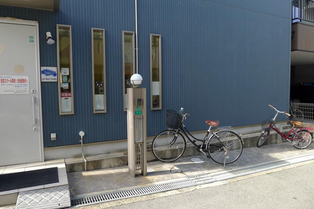 駐輪スペース|自転車・バイクでお越しの方