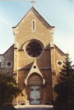 La chiesa del Carmelo di Digione in rue Carnot