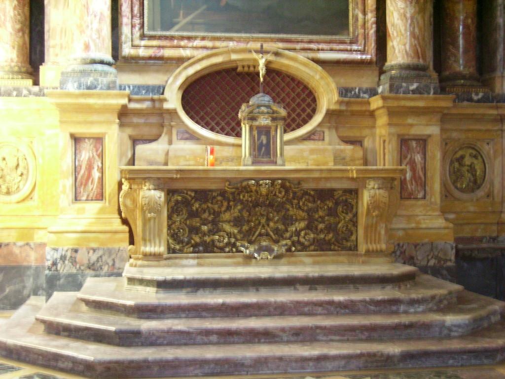 Borgo Pinti - Altare nel quale era custodito il corpo di S. Maddalena