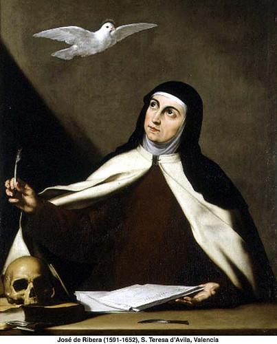 S. Teresa guidata dallo Spirito