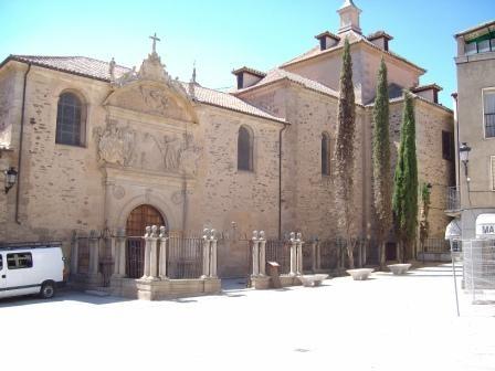 Alba de Tormes - Carmelo in cui morì S. Teresa  nel 1582