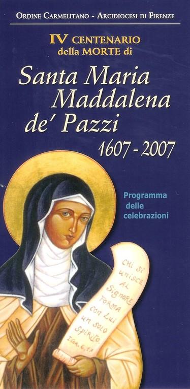 Diocesi di Firenze - OCam 2007 - Icona del Centenario di S. Maddalena de' Pazzi