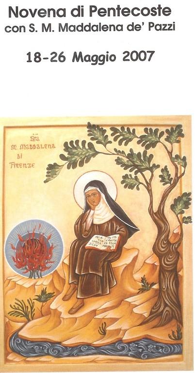 Diocesi di Pistoia 2007 - Icona del Centenario di S. Maddalena de' Pazz