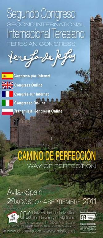 Avila - CITES locandina del  II Congresso Internazionale