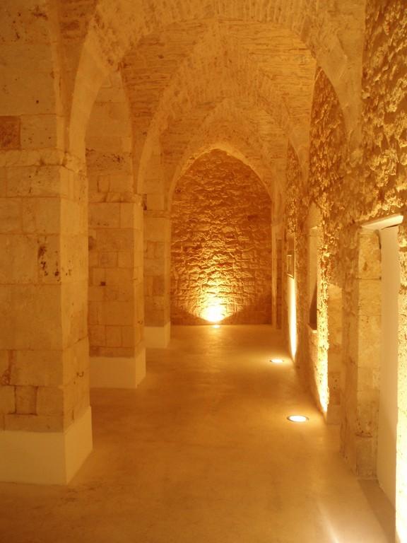 Noci - Il Chiostro del Monastero S. Chiara